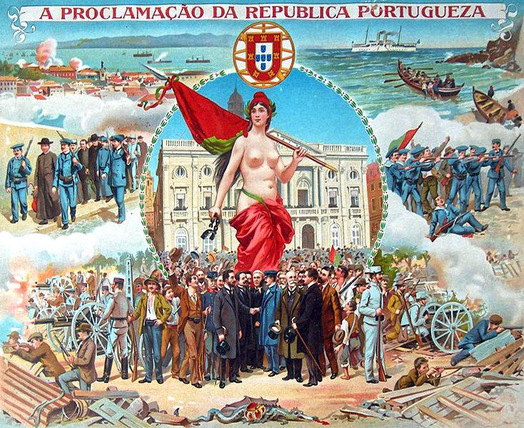 Proclamation de la République Portugaise