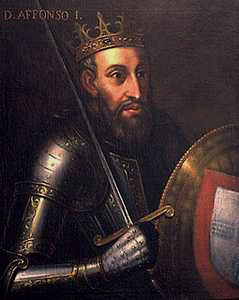 D. Afonso Henriques - 1er Roi du Portugal