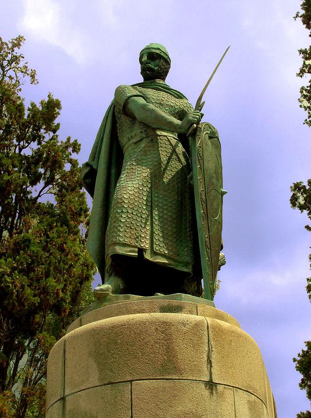 Estatua_Dom_Afonso_Henriques - Autor: Marco Aldeia